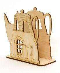 Дървен салфетник - IDEA1402