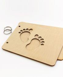Дървени корици за скрапбук албум - Рецепти IDEA1378