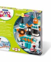 Fimo комплект полимерна глина Kids, 4x42гр. Pony - G803408LZ