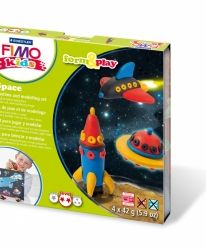Fimo комплект полимерна глина Kids, 4x42гр. Robot - G803403LZ