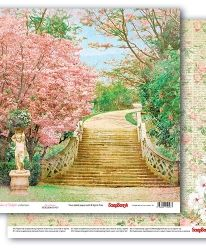 "Double-sided paper 12""x12"" - Garden of Delights, Pastel Patterns SCB220610706"