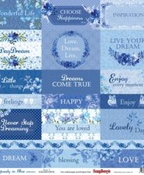 "One-sided paper 12""*12"" - Ocean Enchantment, Cards SCB220610108"