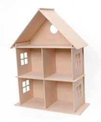 3D wooden construction kit - house - IDEA1161