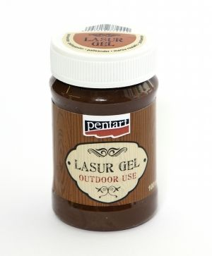 Lasur gel - for outdoor and indoor use 100 ml - palisander P21507