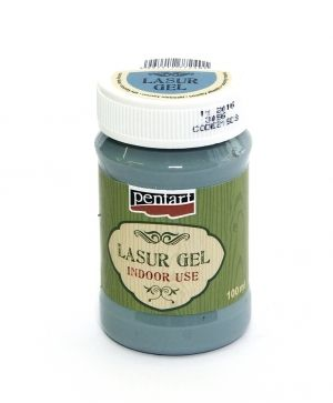 Lasur gel - for indoor use 100 ml - country-blue P21503