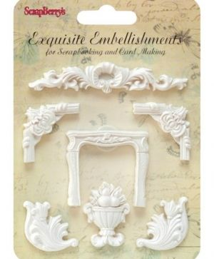 Елементи за декорация - Ornately shaped decorations SCB26001023