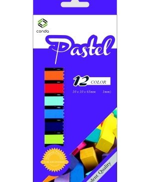CONDA soft pastel set 12 colours - A140322