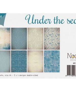 Paper pad A4 12 sheets - Under the sea 6011-0514