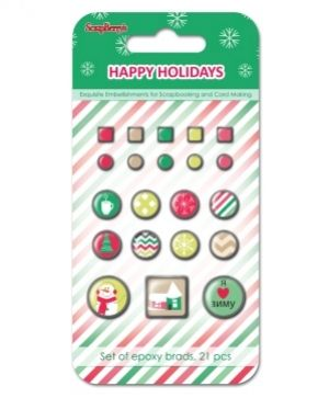 Брадс 21бр -  Happy Holidays SCB3409112
