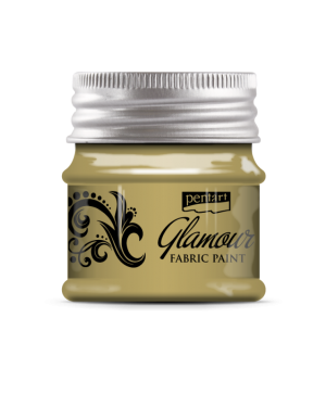 Glamour metallic fabric paint 50ml - champagne P33863