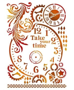 Шаблон 21x29,7см - Take your time KSG417