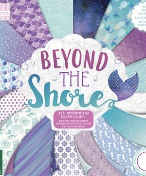 "First edition Paper Pad 8""x8"" - Beyond the Shore FEPAD168"