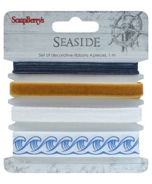 Ribbon printed 4x1m - Seaside SCB390513