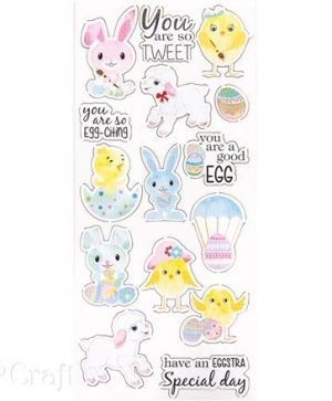 Stickers 15 pcs - Easter DPNK-039