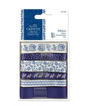1m Ribbon (6pcs) - Parisienne Blue PMA-367111