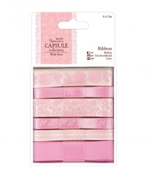1m Ribbon (6pcs) - Wild Rose PMA-367115