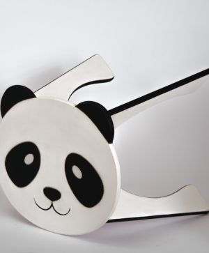 Wooden decorated chair - Panda IDEA1750-1