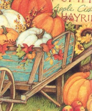 Салфетки за декупаж 33х33см пакет 20бр - Pumpkin crop L793800