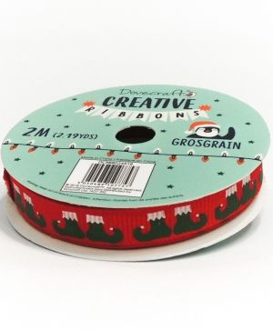 Dovecraft Christmas Ribbon - Modern DCRBB024X18-9