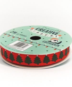 Dovecraft Christmas Ribbon - Modern DCRBB024X18-4