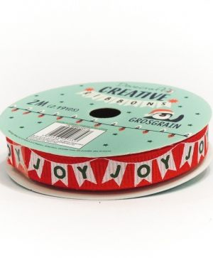 Dovecraft Christmas Ribbon - Modern DCRBB024X18-1