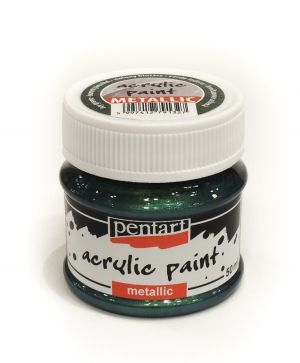 Acrylic paint metallic 50 ml - ivy green P29358