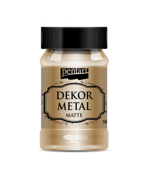 Dekor Metal Matte 100 ml - bronze P35109