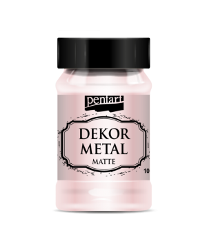 Dekor Metal Matte 100 ml - rose gold P35122