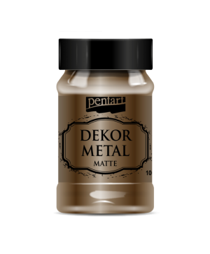 Dekor Metal Matte 100 ml - chocolate P35204