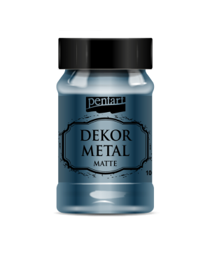 Dekor Metal Matte 100 ml - Oxford blue P35205