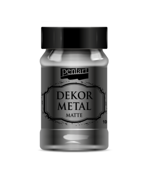 Dekor Metal Matte 100 ml - anthracite P35206