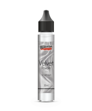 Velvet powder 30 ml - white P35147