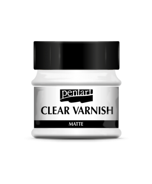 Clear varnish solvent-based 50 ml - matte P35110