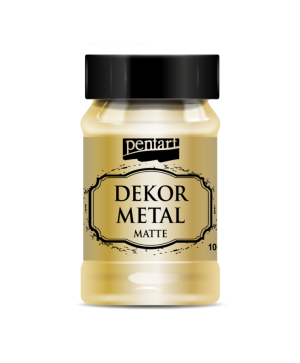Dekor Metal Matte 100 ml - gold P35107