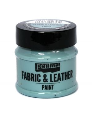 Fabric and leather paint 50ml - country blue P35133
