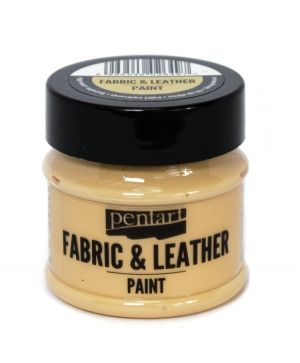 Fabric and leather paint 50ml - egg-shell P35129