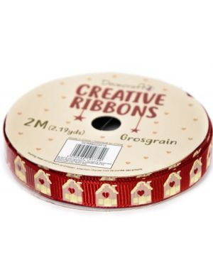 Dovecraft Christmas Ribbon - Traditional DCRBB023X18-11
