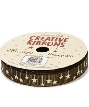 Dovecraft Christmas Ribbon - Traditional DCRBB023X18-10