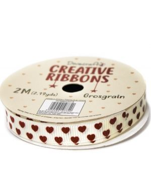 Dovecraft Christmas Ribbon - Traditional DCRBB023X18-8