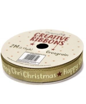 Dovecraft Christmas Ribbon - Traditional DCRBB023X18-6