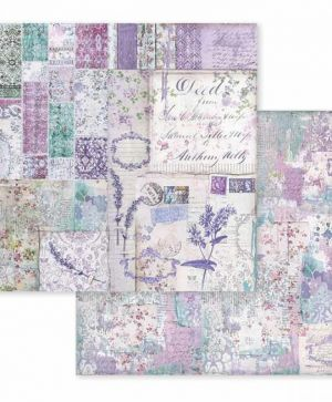 "Double face scrap paper 12""x12"" - Provence patchwork SBB595"