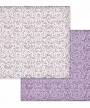 "Double face scrap paper 12""x12"" - Provence texture wallpaper SBB597"