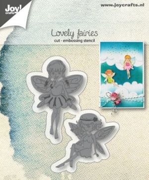 Шаблон за изрязване и релеф - Lovely Fairies 6002-1306