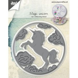 Шаблон за изрязване и релеф - Magic Unicorn 6002-1170