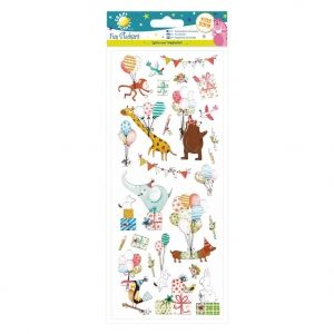 Стикери - Birthday Animals CPT-805272