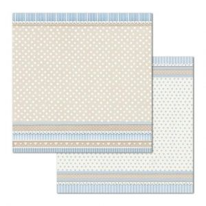 Дизайнерски картон Stamperia 30.5x30.5см - Little Boy Texture pois SBB686