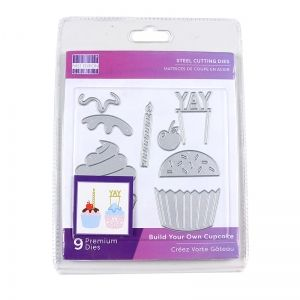 Шаблон за изрязване и релеф - Build Your Own Cupcake FEDIE281